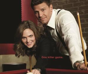 Bones saison 10 : Emily Deschanel et David Boreanaz sur une affiche
