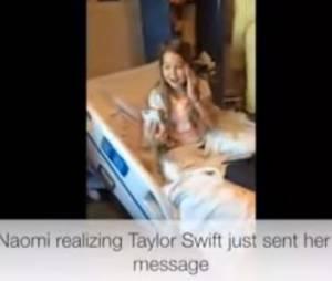 Taylor Swift : un don généreux à une fan malade