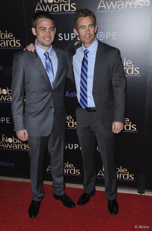 Cody Walker, à gauche, et Caleb Walker aux Noble Awards 2015