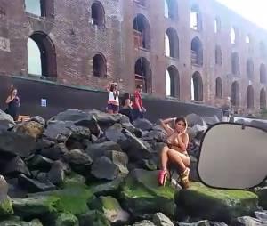 Parisa (Les Marseillais) fait le show en bikini sur Snapchat