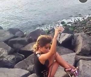 Parisa (Les Marseillais) : une séance photo dévoilée sur Snapchat