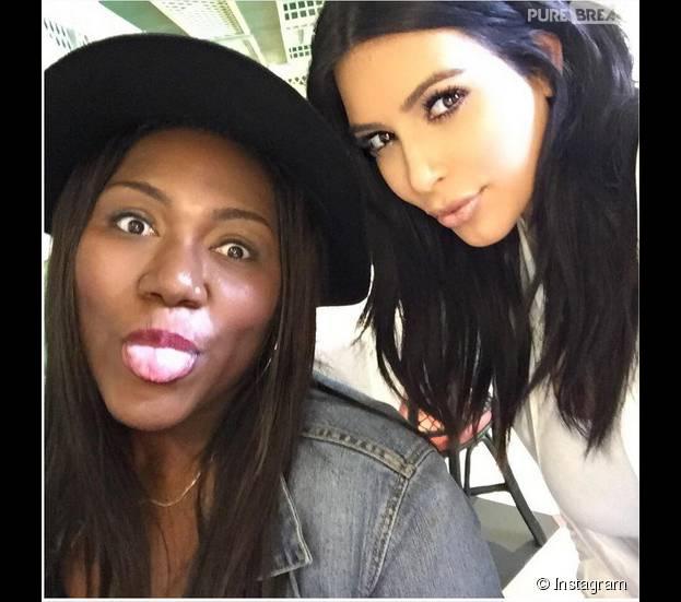Kim Kardashian : star généreuse, elle vient fêter l'anniversaire de sa plus grande fan à la Nouvelle Orléans, août 2015