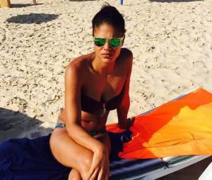 Ornella (Qui est la taupe) en bikini sur Instagram