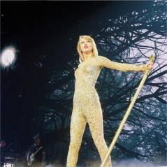 Taylor Swift : grosse frayeur sur scène quand deux fans tentent de l'attraper