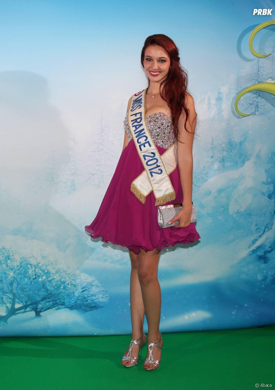 Delphine Wespiser à l'avant-première de Clochette et le secret des fées, le 3 octobre 2012