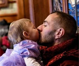 Karim Benzema papa gaga avec sa fille Méliasur Instagram, le 11 août 2015
