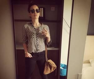 Maude : selfie classe sur Instagram