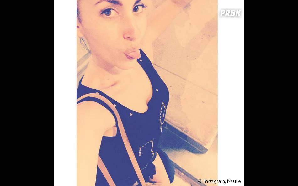 Maude dévoile son décolleté sur Instagram