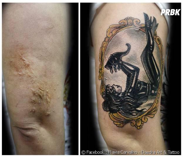 Se reconstruire avec un tatouage
