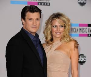 Nathan Fillion (Castle) et son ex-compagne Kate Luyben