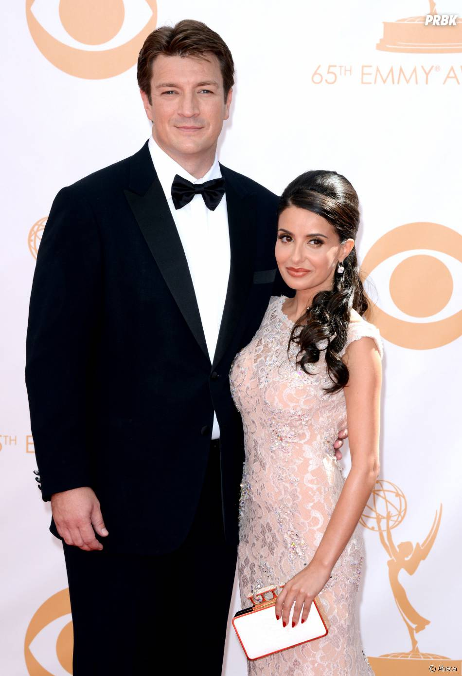 Nathan Fillion (Castle) et son ex-compagne Mikaela Hoover