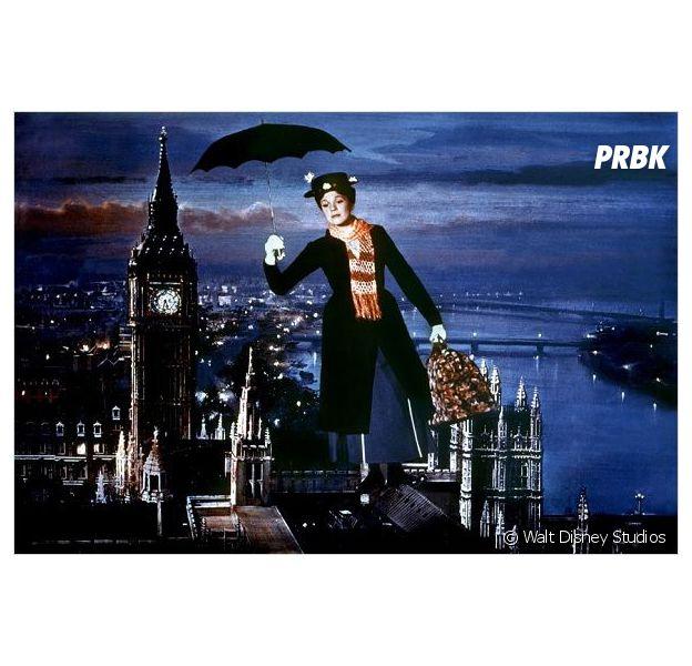 Mary Poppins : qui pour succéder à Julie Andrews ?
