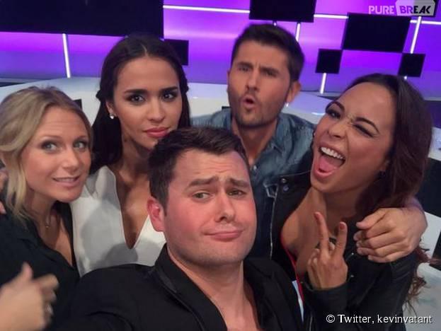 Tara Damiano : selfie délirant avec l'équipe du debrief de Secret Story 9