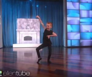 Dylan, un fan de Taylor Swift, danse dans l'émission d'Ellen DeGeneres