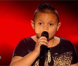 Swany (The Voice Kids 2) : le petit fan de Kendji Girac rejoint l'équipe de Patrick Fiori