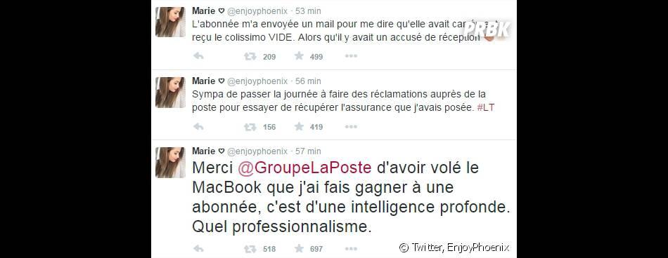 EnjoyPhoenix : son coup de gueule sur Twitter contre le vol du MacBook envoyé à une fan