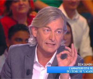 Benjamin Castaldi taclé par Gilles Verdez dans TPMP au sujet de la déprogrammation de l'Académie des 9