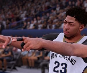 NBA 2K16 : une image du jeu