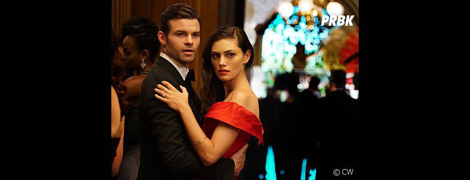 The Originals saison 3, épisode 4 : Daniel Gillies (Elijah) et Phoebe Tonkin (Hayley) sur une photo