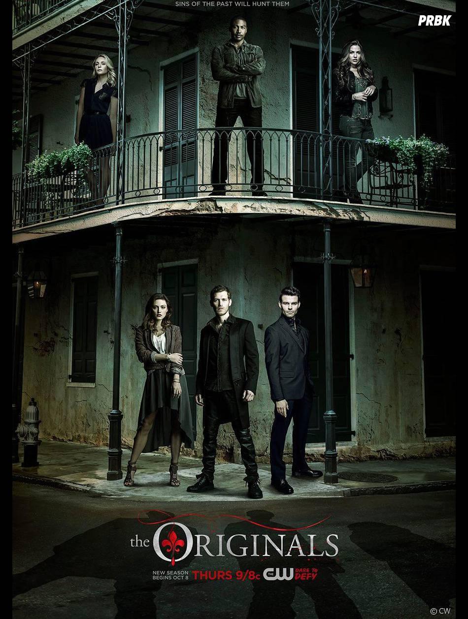 The Originals saison 3 : l'affiche avec les acteurs