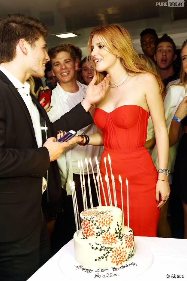 la jolie Bella Thorne fêtait ses 18 ans