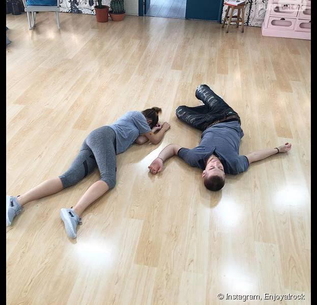 EnjoyPhoenix et Yann Alrick : entraînements intense avant Danse avec les stars 6