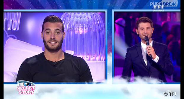 Loïc (Secret Story 9) pendant le prime du vendredi 16 octobre 2015 sur Tf1