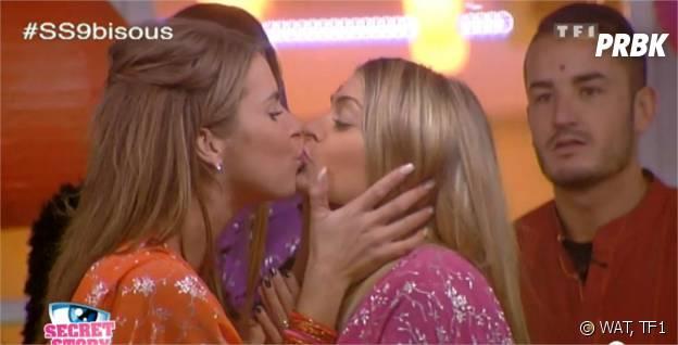 Secret Story 9 : bisou pour Emilie et Mélanie