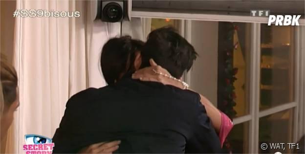 Secret Story 9 : bisou pour Ali et Nathalie