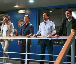 Esprits Criminels : Gary Sinise et l'équipe de la série dans l'épisode 19 de la saison 10 qui introduit le spin-off Criminal Minds : Beyond Borders
