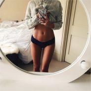 Caroline Receveur : sexy et en culotte sur Instagram pour dévoiler son ventre ultra plat