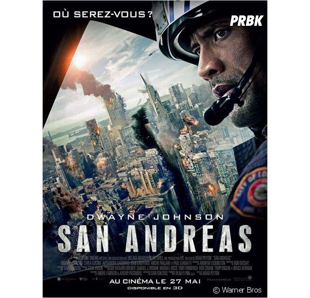 San Andreas sort en DVD