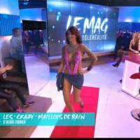 Julia Paredes (Les Anges) ultra sexy dans Le Mag pour faire la promo des maillots d'Afida Turner