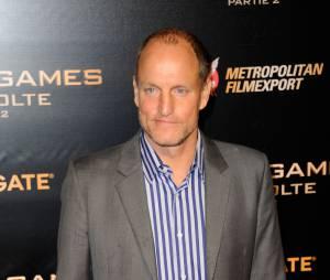 Woody Harrelson à l'avant-première de Hunger Games 4 à Paris le 9 novembre 2015