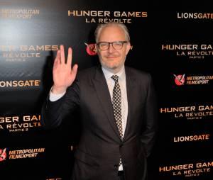 Francis Lawrence à l'avant-première de Hunger Games 4 à Paris le 9 novembre 2015