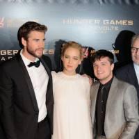 Jennifer Lawrence divine, Josh Hutcherson, Liam Hemsworth... Hunger Games 4 enflamme Paris