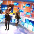 Leila Ben Khalifa : danse sexy et délirante dans Le Debrief de Secret Story 9, le 11 novembre 2015