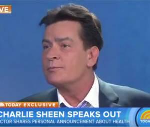 Charlie Sheen dévoile sa séropositivité à la télévision américaine le 17 novembre 2015