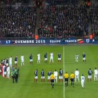 France/Angleterre : Marseillaise et minute de silence émouvante pour les victimes des attentats