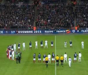 France vs Angleterre : incroyable minute de silence en hommage aux victimes des attentats de Paris