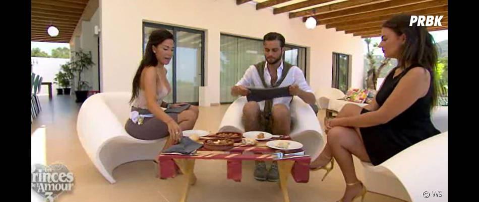 Milla (Les Princes de l'amour 3) a préparé un repas pour Nikola