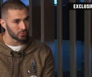Karim Benzema s'exprime sur l'affaire de la sextape de Mathieu Valbuena, le 2 décembre 2015 sur TF1