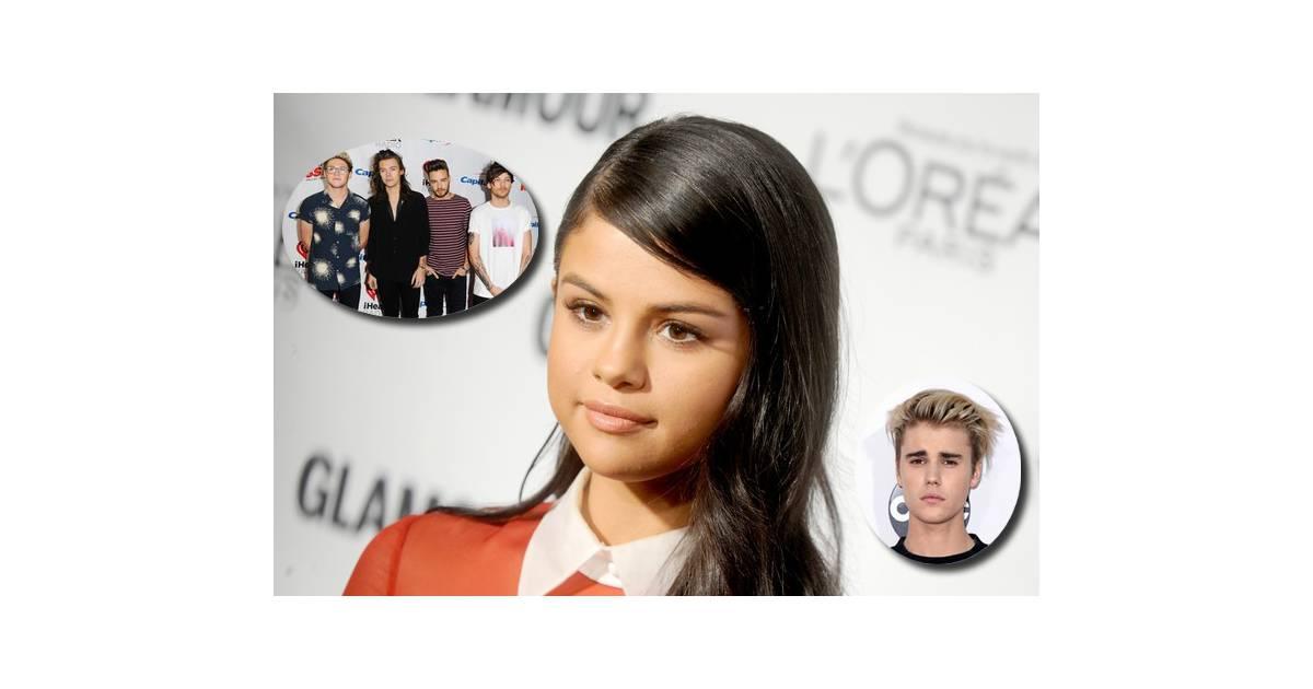 Selena gomez justin bieber ou one direction elle fait son choix sur insta - Ou habite selena gomez ...