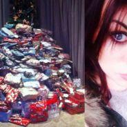 Une mère offre plus de 250 cadeaux de Noël à sa famille, la Toile lui tombe dessus