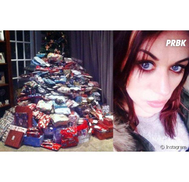 Une mère offre plus de 200 cadeaux de Noël à sa famille, la Toile lui tombe dessus