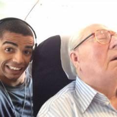 Brahim Zaibat et Jean-Marie Le Pen, un selfie pour lutter contre le FN aux Régionales 2015