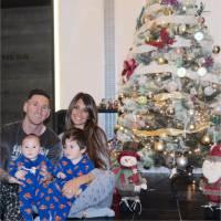 Lionel Messi et son fils Mateo : il dévoile enfin son visage sur une photo kitsch de Noël