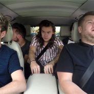 """One Direction : leur """"carpool karaoke"""" délirant avec James Corden fait le buzz"""
