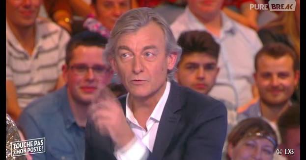 Gilles Verdez pousse un coup de gueule contre Alain Delon, dans TPMP, le 28 octobre 2015, sur D8