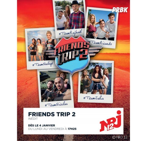 Friends Trip 2 : les salaires des candidats dévoilés ?